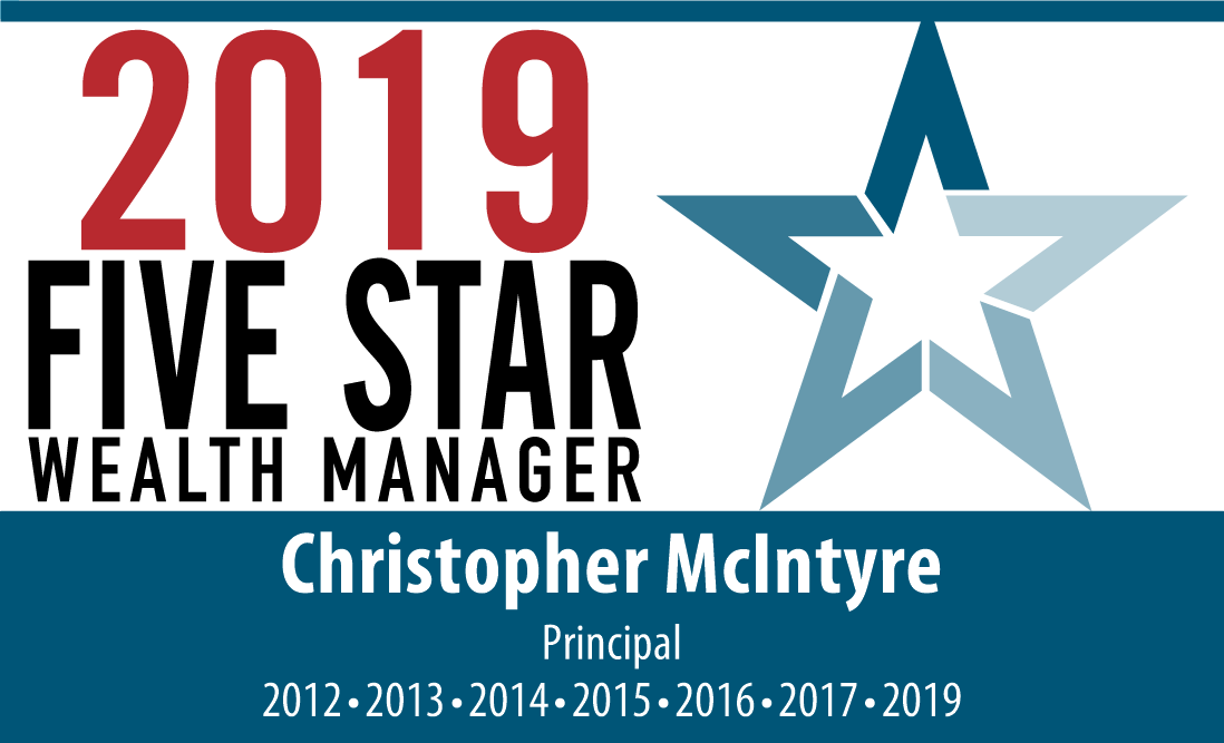 McIntyre Five Star Award 2018 Emblem horizontal